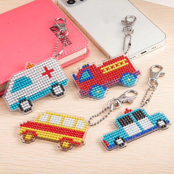 8/29: NEW Truck Keychains - Set of 4 (#1216)