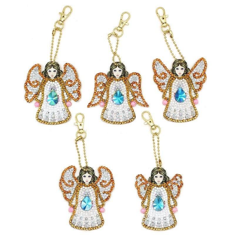 7/18: Angel Keychains - Set of 5 (#656)