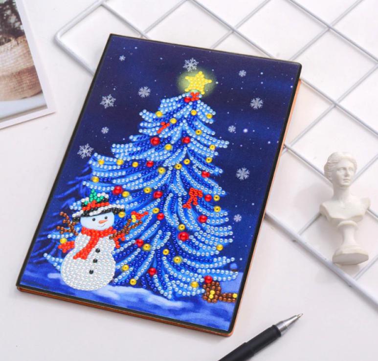 Christmas Tree Notebook  (Blank)(#309)