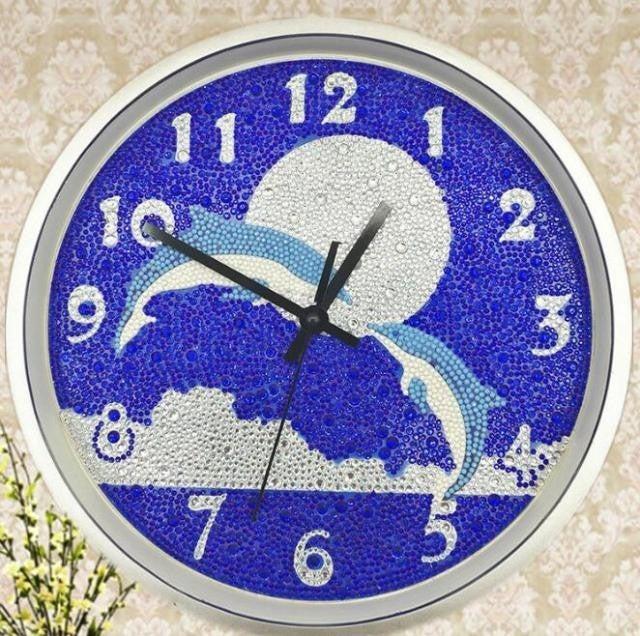 5/30: Dolphin Clock (#805)