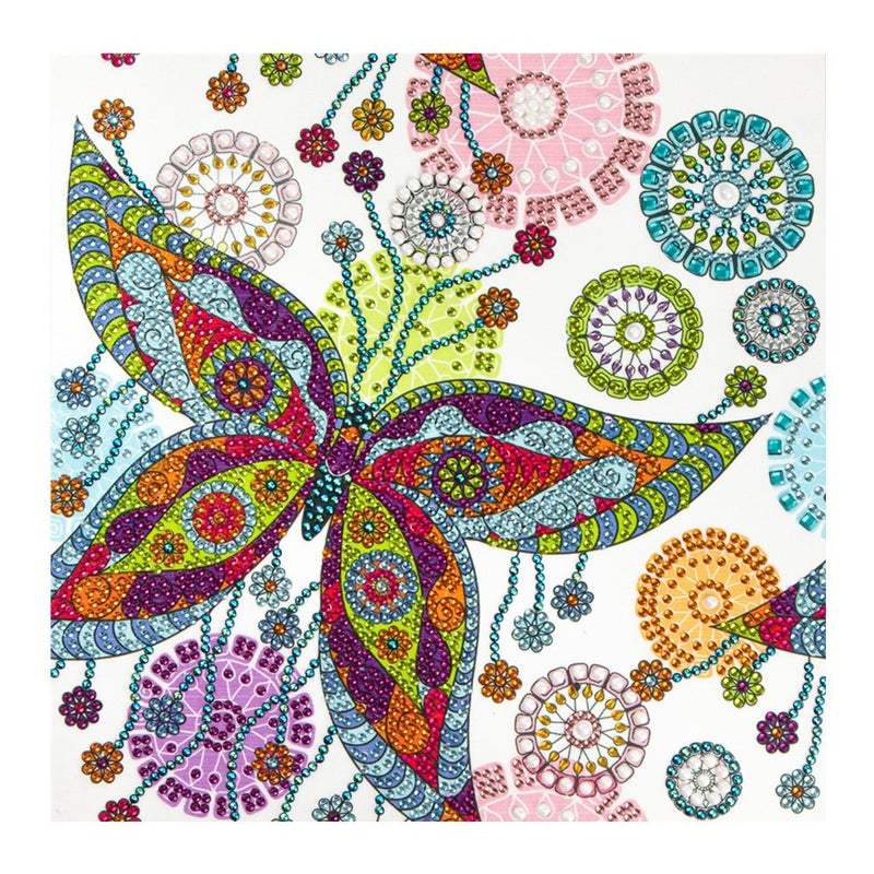 """9/23: NEW Butterfly (Partial) 9.5""""x9.5"""" (#1212)"""