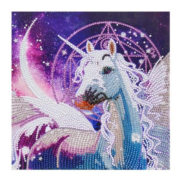 "Unicorn (Partial) 9.5""x9.5"" (#1456)"