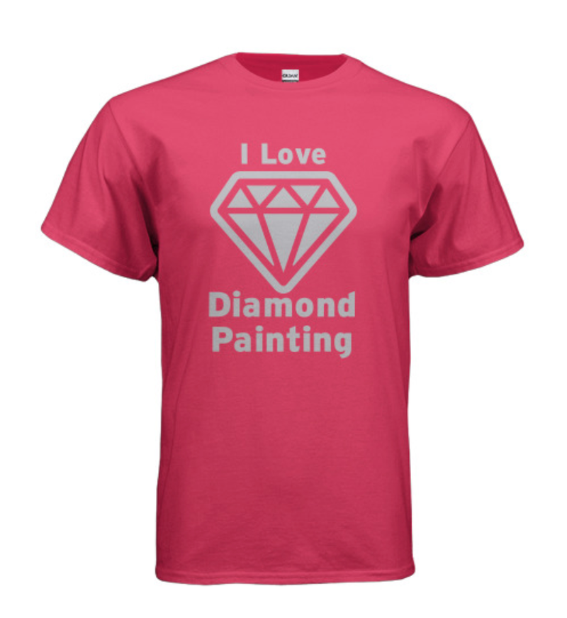 9/12: I Love Diamond Painting Shirt - Choose Your Size