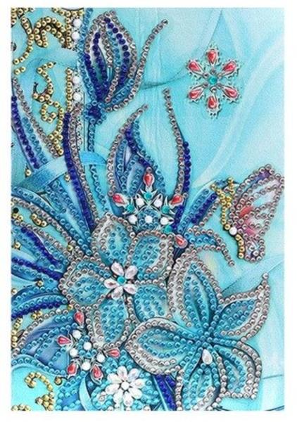 9/9: Blue Flowers Notebook (#1311)