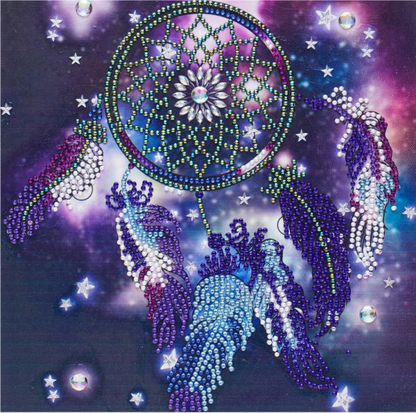 """9/12: Dreamcatcher (Partial) 9.5""""x9.5"""" (#404)"""