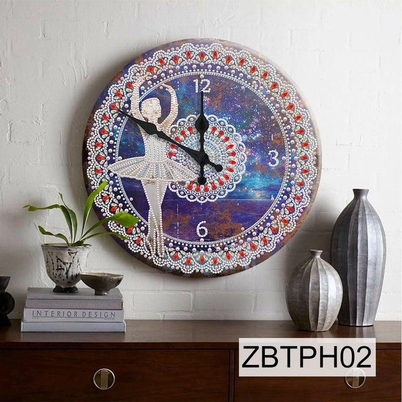 9/16: NEW Tin Clock #2 (#2)