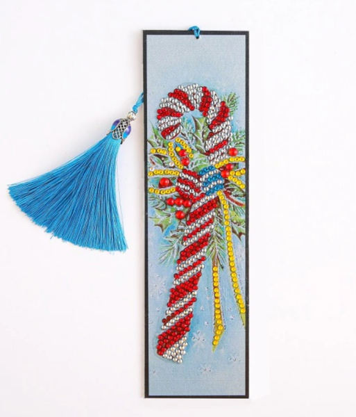 7/18: Candy Cane Bookmark (#380)