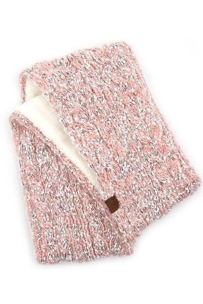 C.C. Rose Popcorn Knit Infinity Scarf For Women