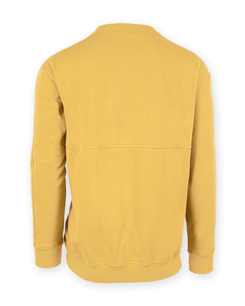 Iowa Distressed Old Gold Sweatshirt - Unisex Adult