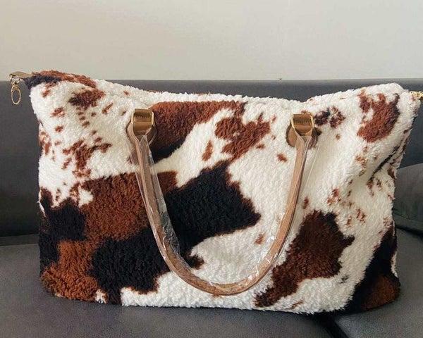 Cow Sherpa Weekender Bag *Final Sale*