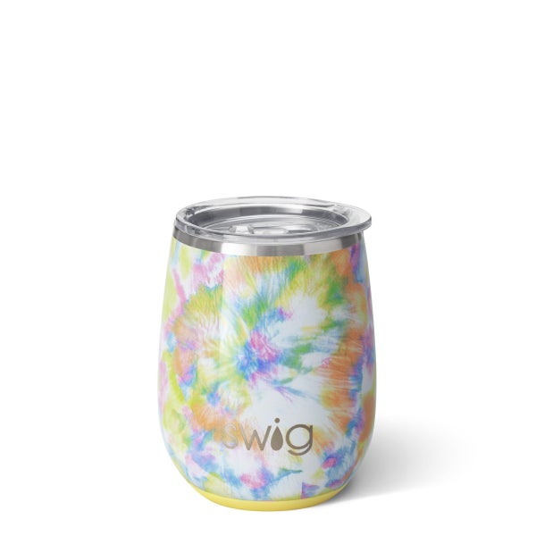Swig You Glow Girl 14oz Stemless Wine Cup