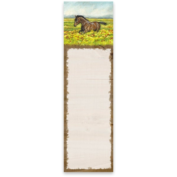 Horse Magnetic Notepad *Final Sale*
