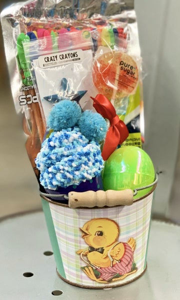 Vintage Easter Bucket Gift Set For Kids *Final Sale*
