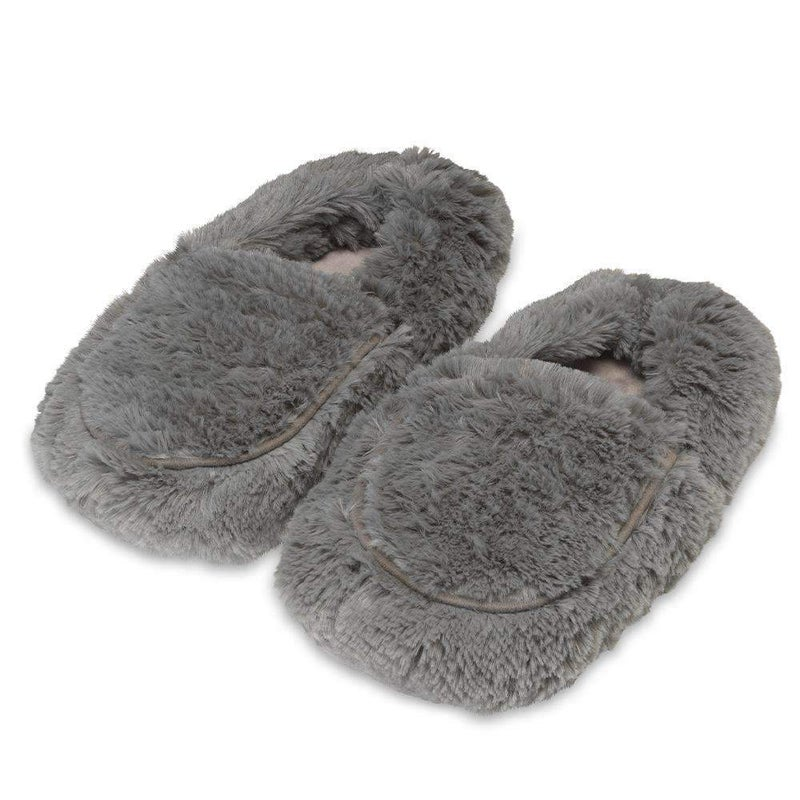 Gray Warmies Slippers For Adults *Final Sale*