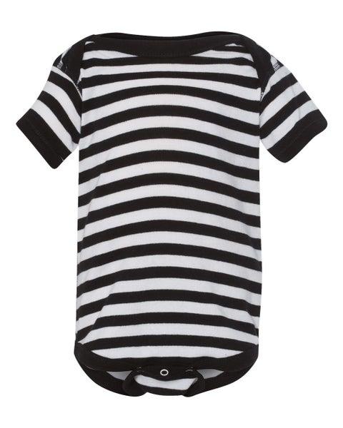 Black & White Stripe Bodysuit