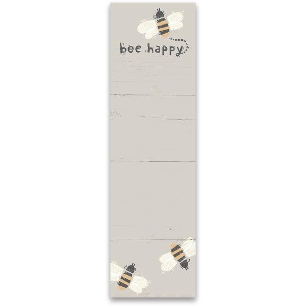 Bee Happy Notepad *Final Sale*