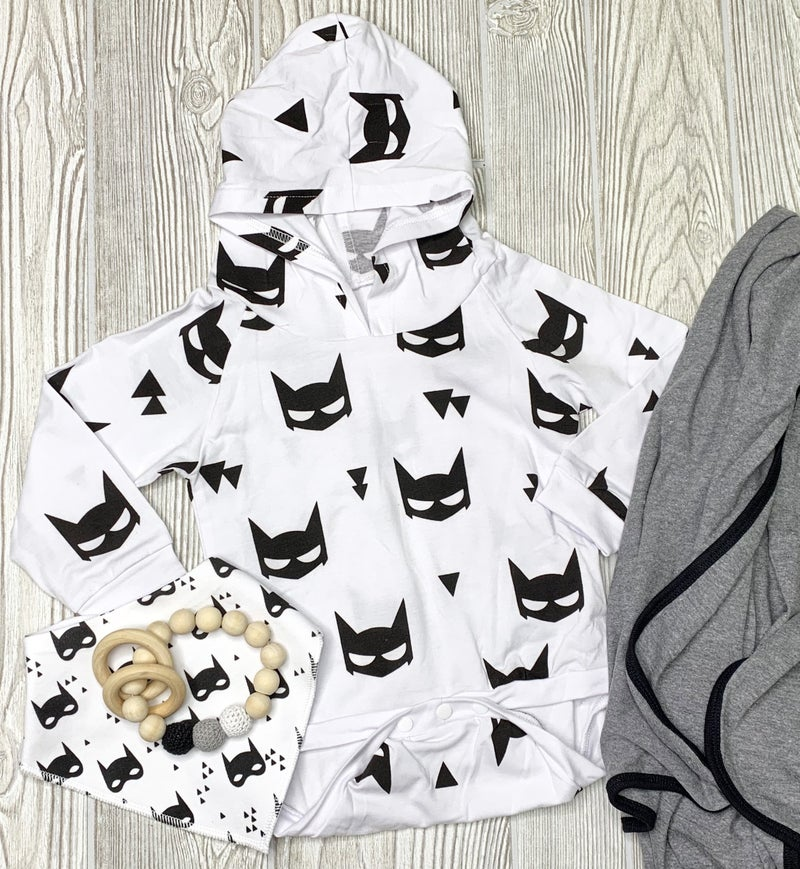 Batman Hooded Bodysuit *Final Sale*