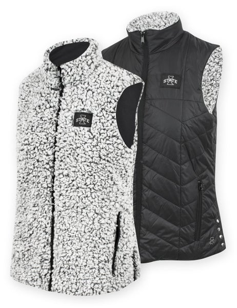 ISU Cyclones Reversible Sherpa Vest
