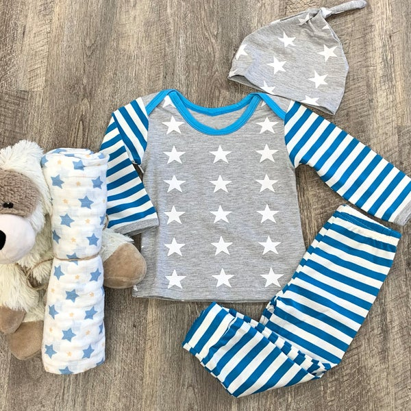 3pc Star Bright Outfit Set For Baby