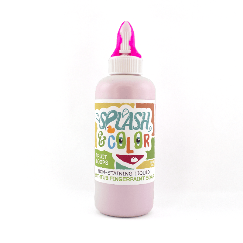 Fruit Loops Splash & Color Bathtub Finger Paint *Final Sale*