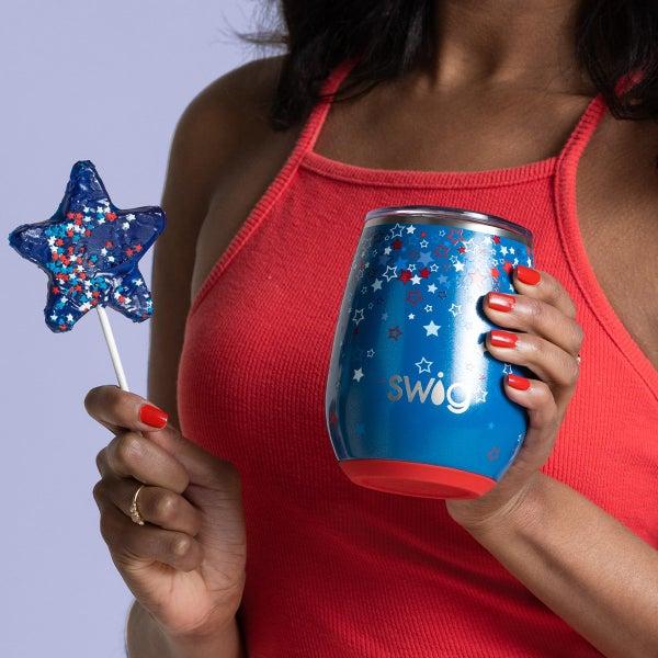 Swig Star Burst 14oz Stemless Wine Cup
