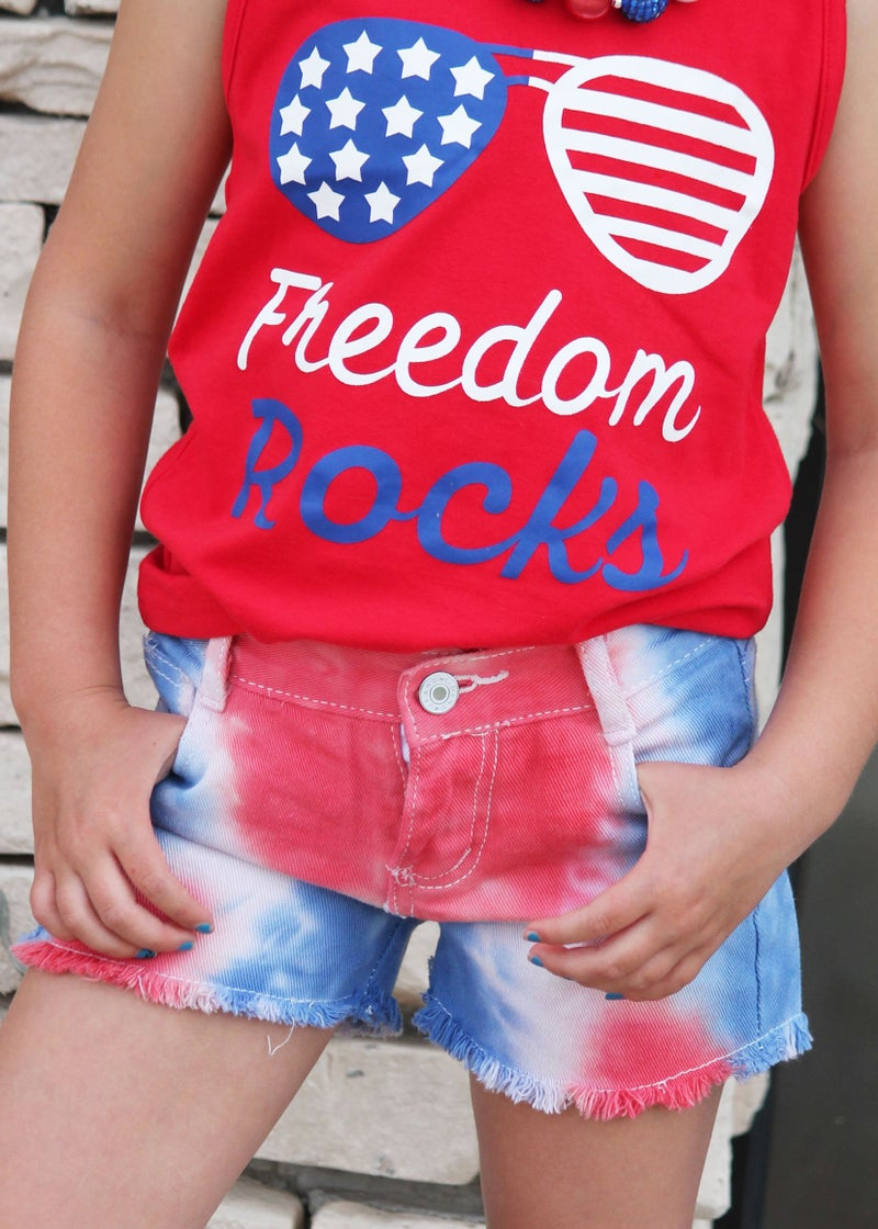 Freedom Rocks Tank Top For Girls *Final Sale*