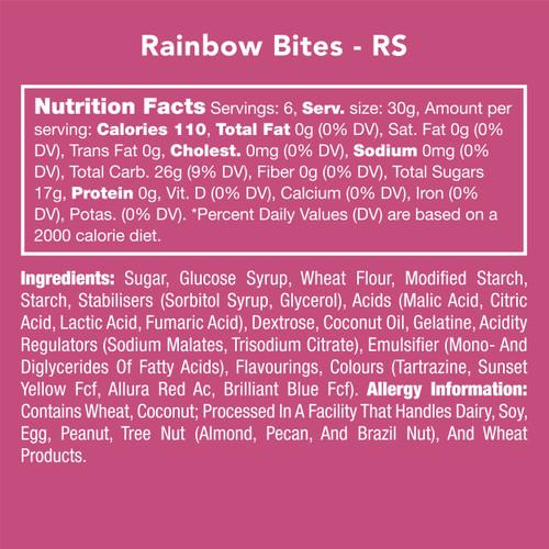 Rainbow Bites - Candy Club *Final Sale*