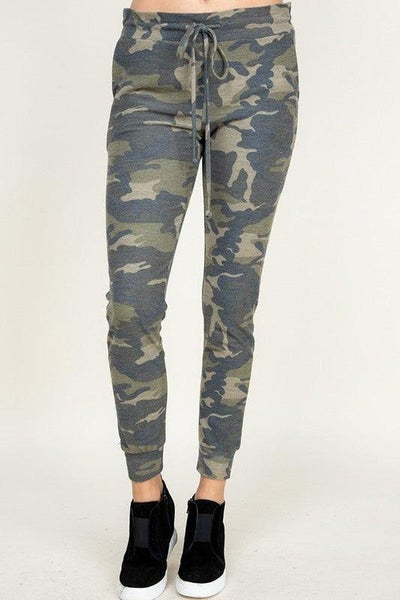Camo Joggers For Women *Final Sale*