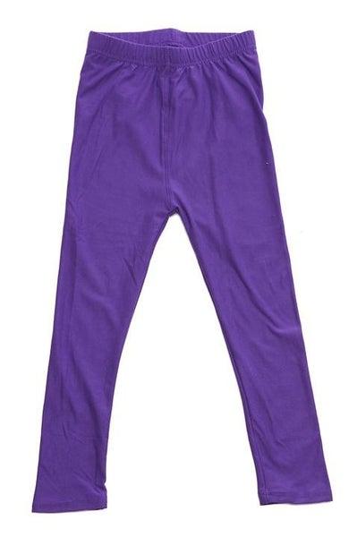 Purple Leggings For Girls