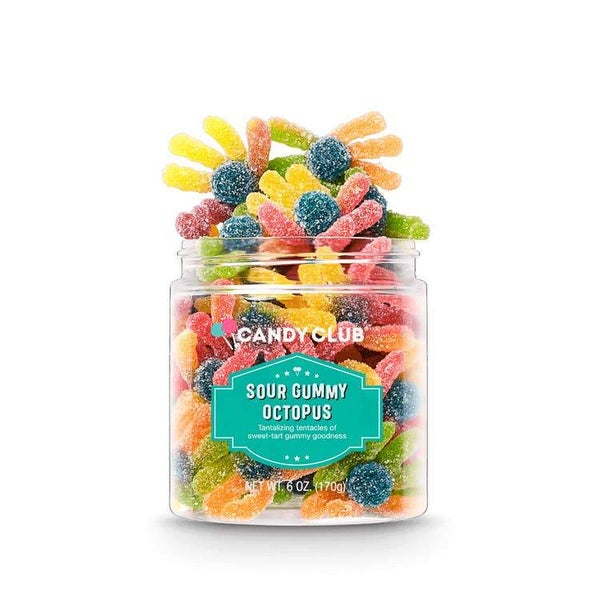 Sour Gummy Octopus - Candy Club Candy Bites *Final Sale*