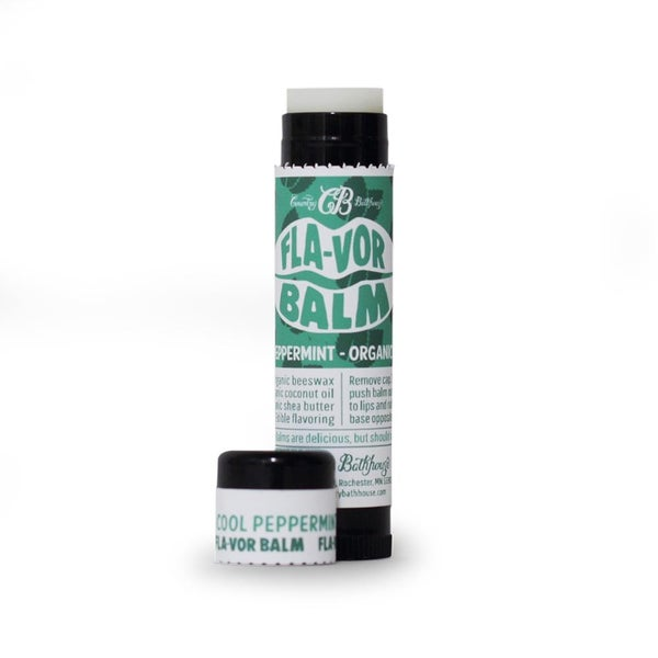 Cool Peppermint Lip Flavor Balm *Final Sale*