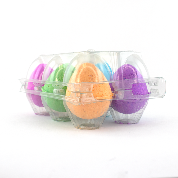 6 Pack Egg Bath Bombs *Final Sale*