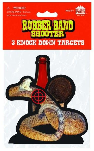 Shooter Targets For Rubber Band Guns - 3pk *Final Sale*
