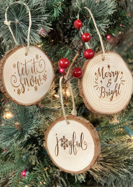 Classic Holiday 3pk Bundle of Ornaments