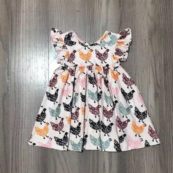 Chicken Dress For Girls