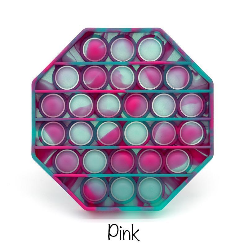 Glow In The Dark Fidget Popper - Multiple Colors *Final Sale*