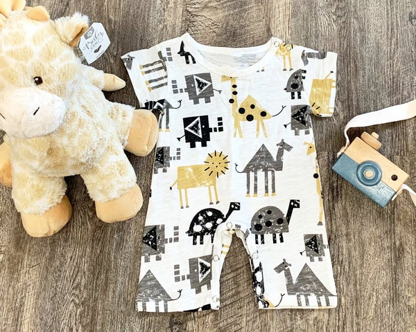Zoo Animals Outfit For Baby