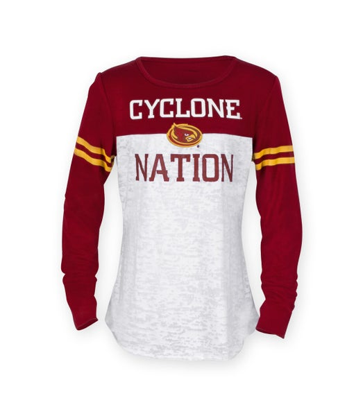 Cyclone Nation Long Sleeve Top For Women