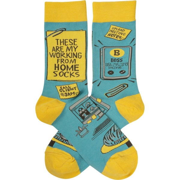 These Are My Work From Home Socks - Adult *Final Sale*
