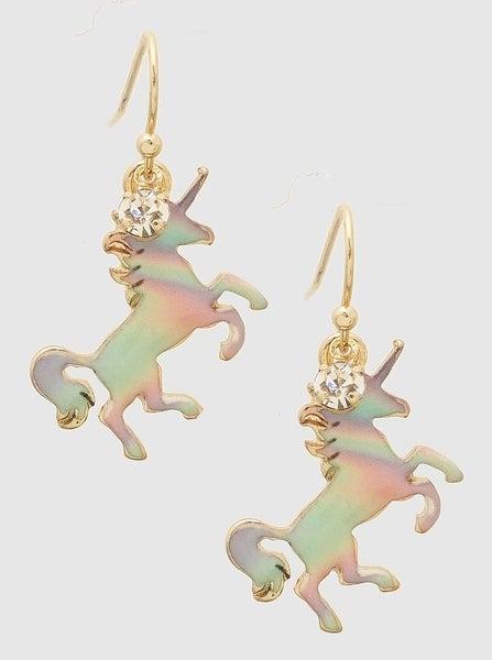 Unicorn Earrings *Final Sale*