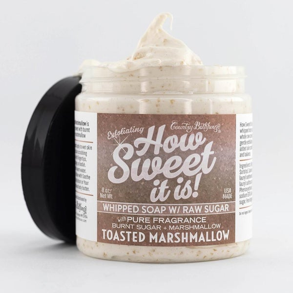 Toasted Marshmallow Whipped Soap & Shave Cream By Country Bathhouse *Final Sale*
