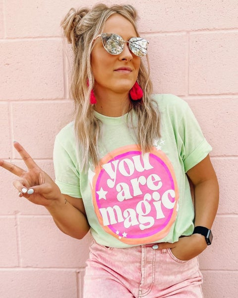 You Are Magic Graphic Tee For Women