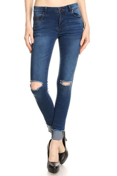 Blue Age: Mid Rise Skinny Jeans *Final Sale*