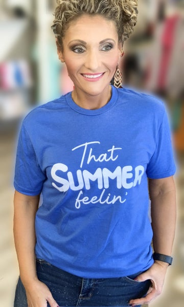 That Summer Feelin' Graphic Tee For Adults