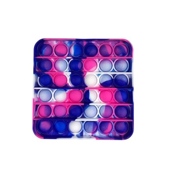Pink & Blue Square Fidget Popper *Final Sale*