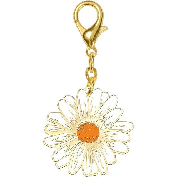 Daisy Enamel Keychain *Final Sale*