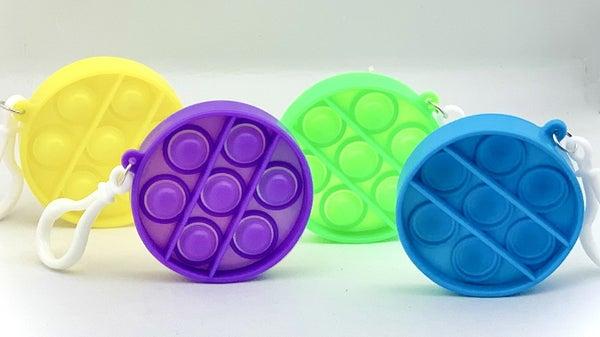 Circle Clip & Go Fidget Popper Toy *Final Sale*