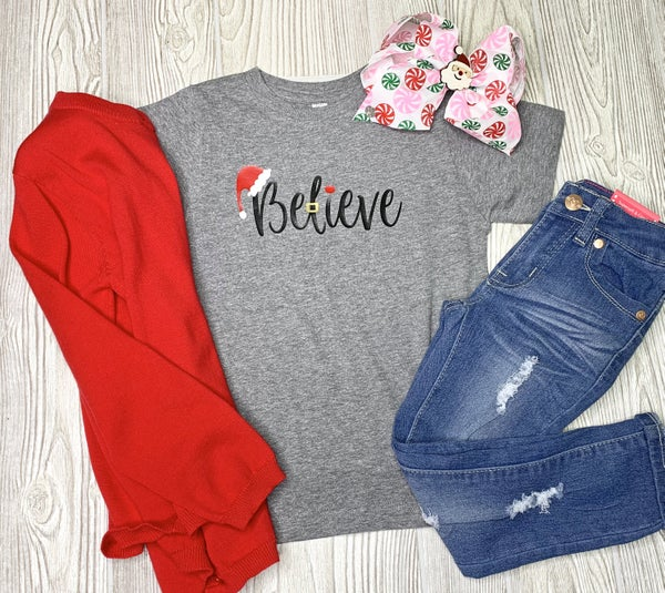 Believe - Baby / Toddler / Youth Graphic Tee