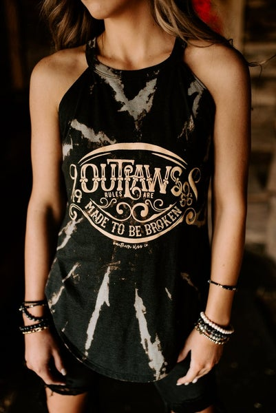 Bleached Outlaws Tank For Women