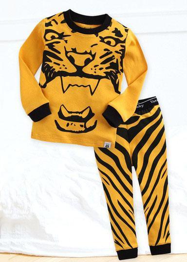 Wild Tiger 2pc PJ Set - Unisex
